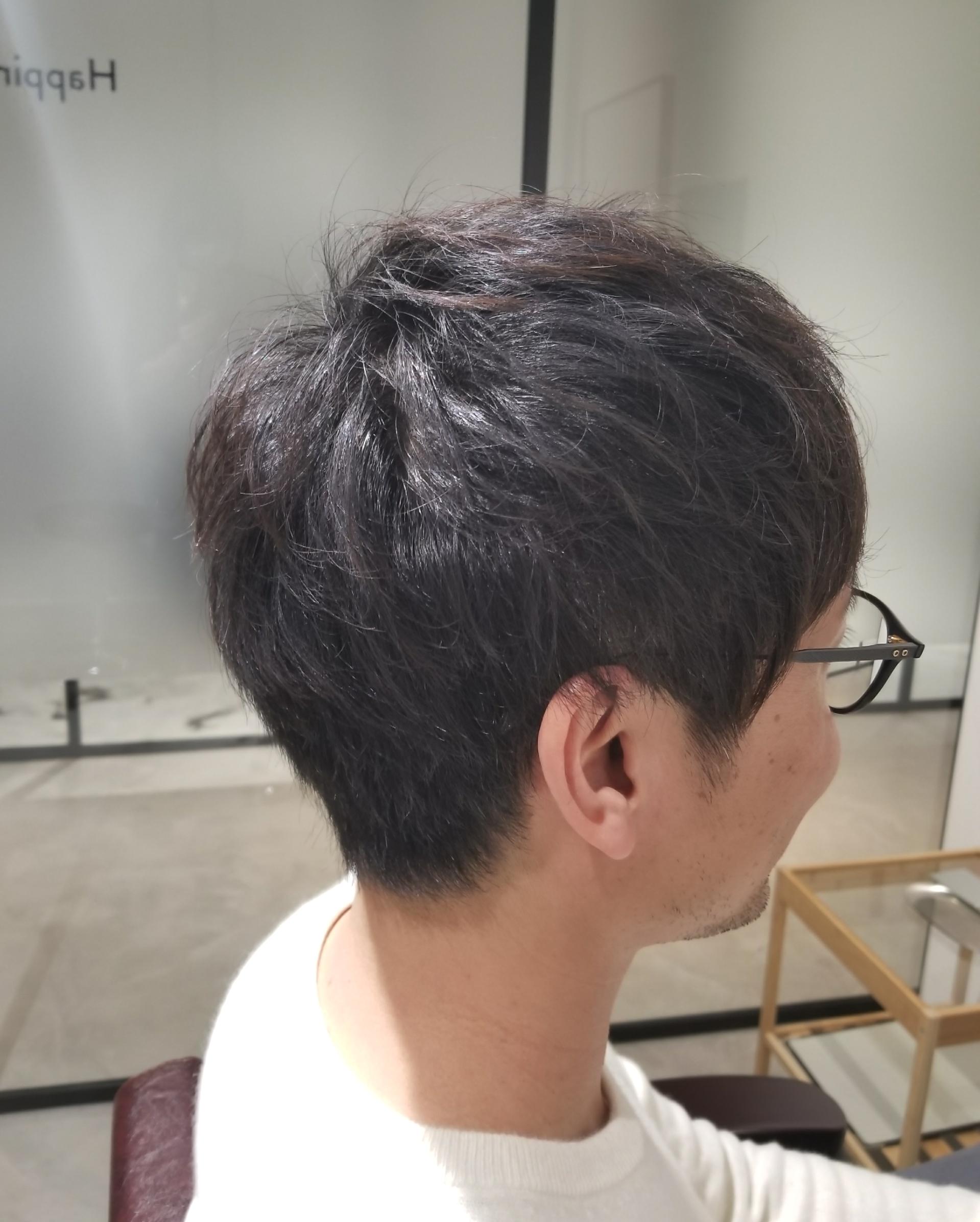 髪 ぺたんこ 髪型 メンズ