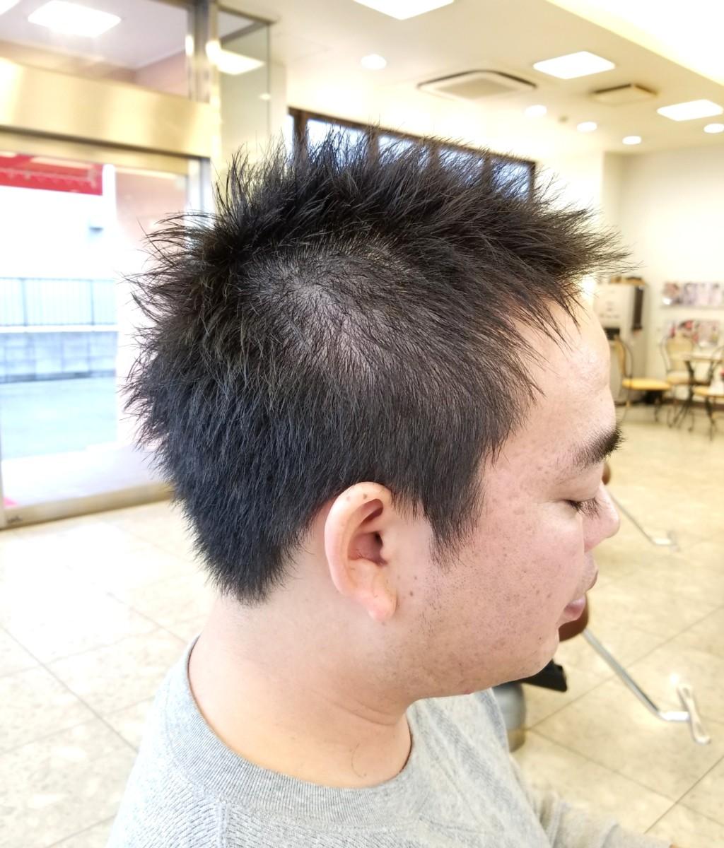 刈りあげないくらいの短髪で!!!セット楽ちんメンズショート✂✂