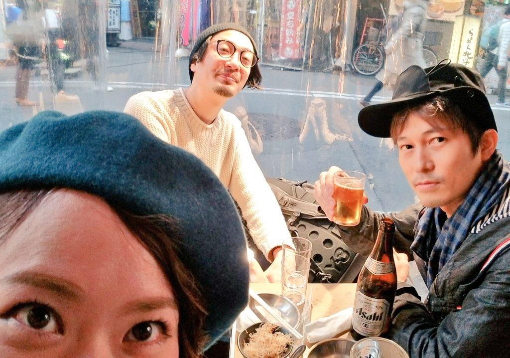 先輩方と新橋で夕方から飲んだくれツアー!!!