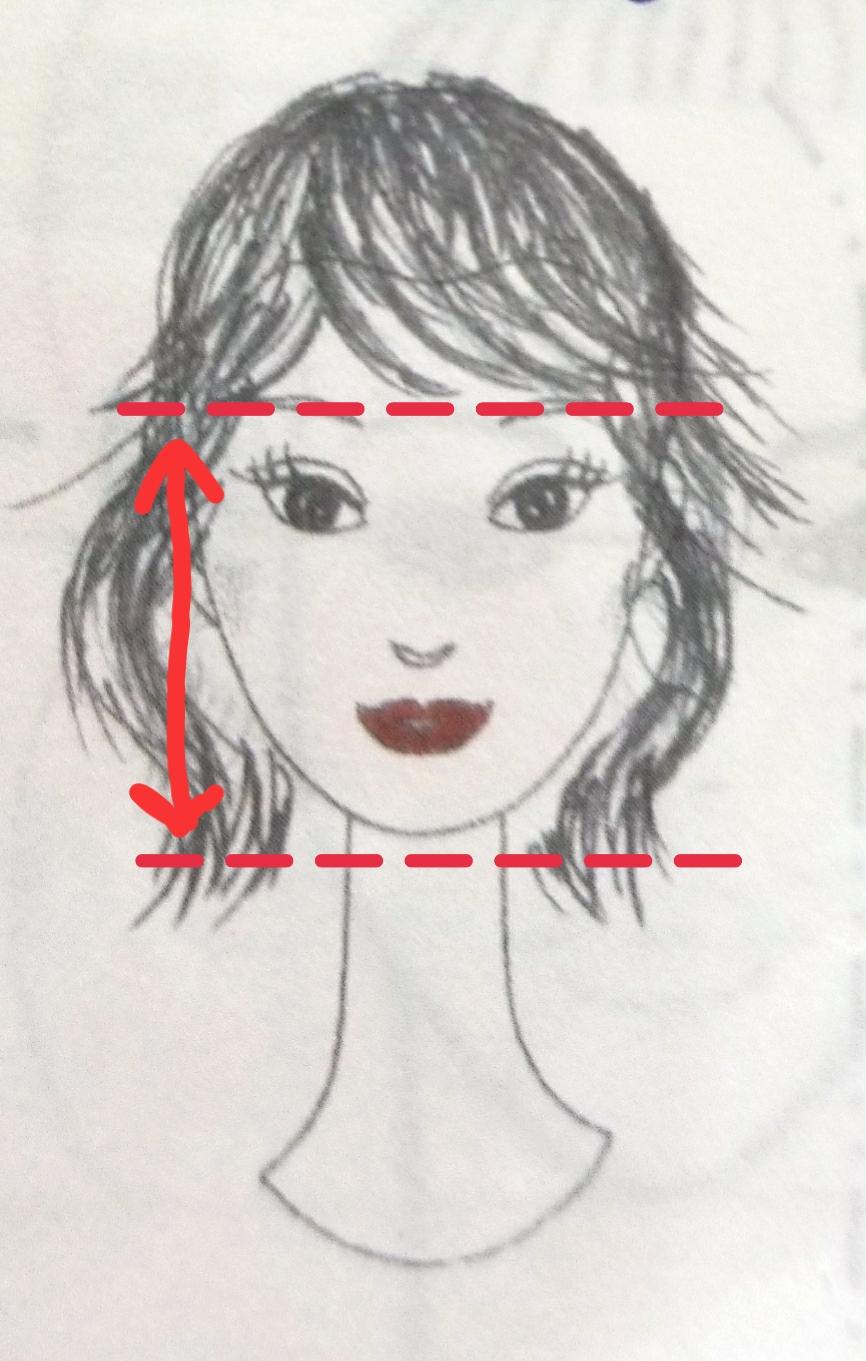 面長さん向けの!!小顔効果のある似合わせ髪型♪