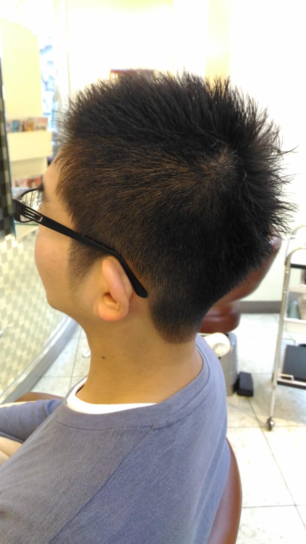 直毛さんの刈りあげスタイル!毛流れコントロールでカッコよく♪