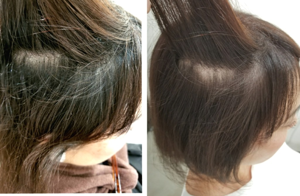 出始め白髪は明るめカラーリングで白髪をぼかして染めるのもアリです!
