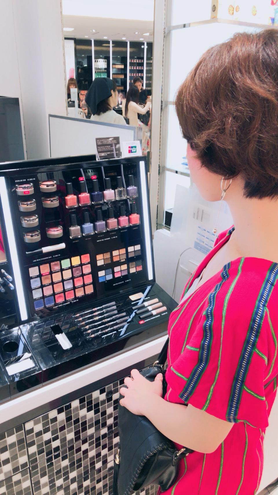 タナカアミが、メイクアップアーティスト黒木絵里のコスメお買い物同行サービスを体験してきた!!