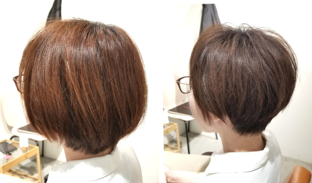 老けて見える髪型を解消する、ショートカットと髪色の関係性!