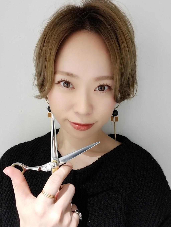 タナカアミの髪も2018年の切り納め!!