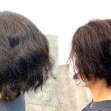 湿気で髪が広がる梅雨も、縮毛矯正をかけずに楽ちんショートヘア!